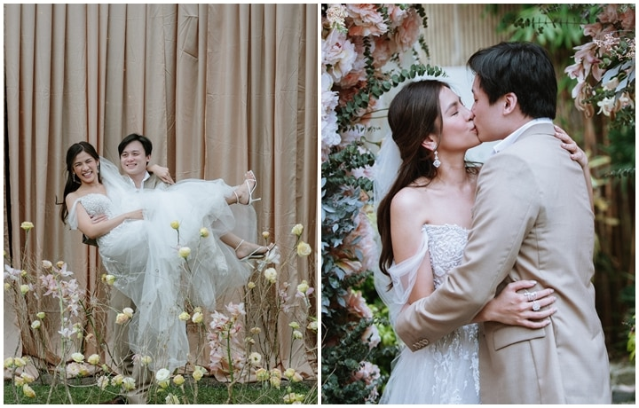 Patricia Santos and Lester Yao's Wedding Album