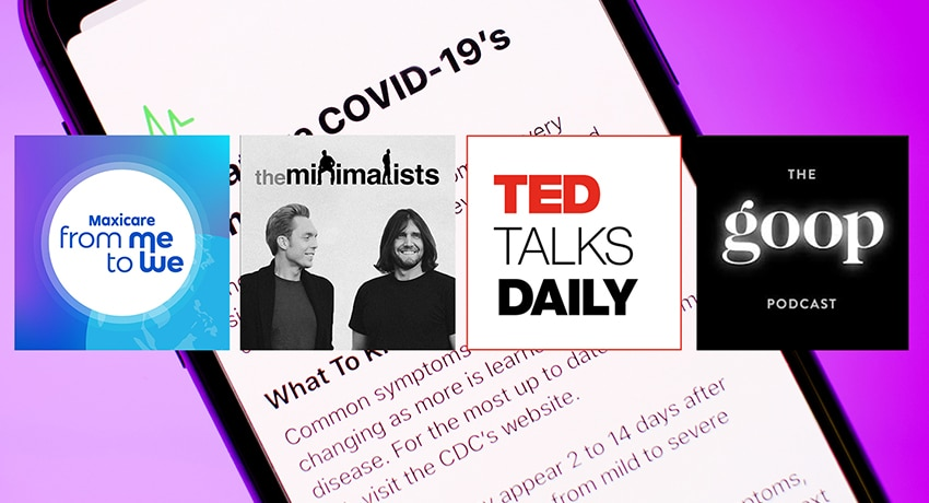 COVID-19 Podcasts