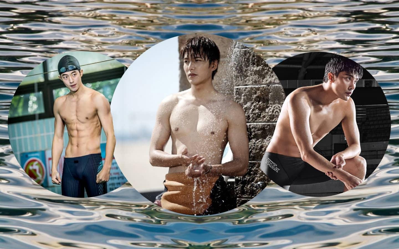 K-Actors in Swimsuits