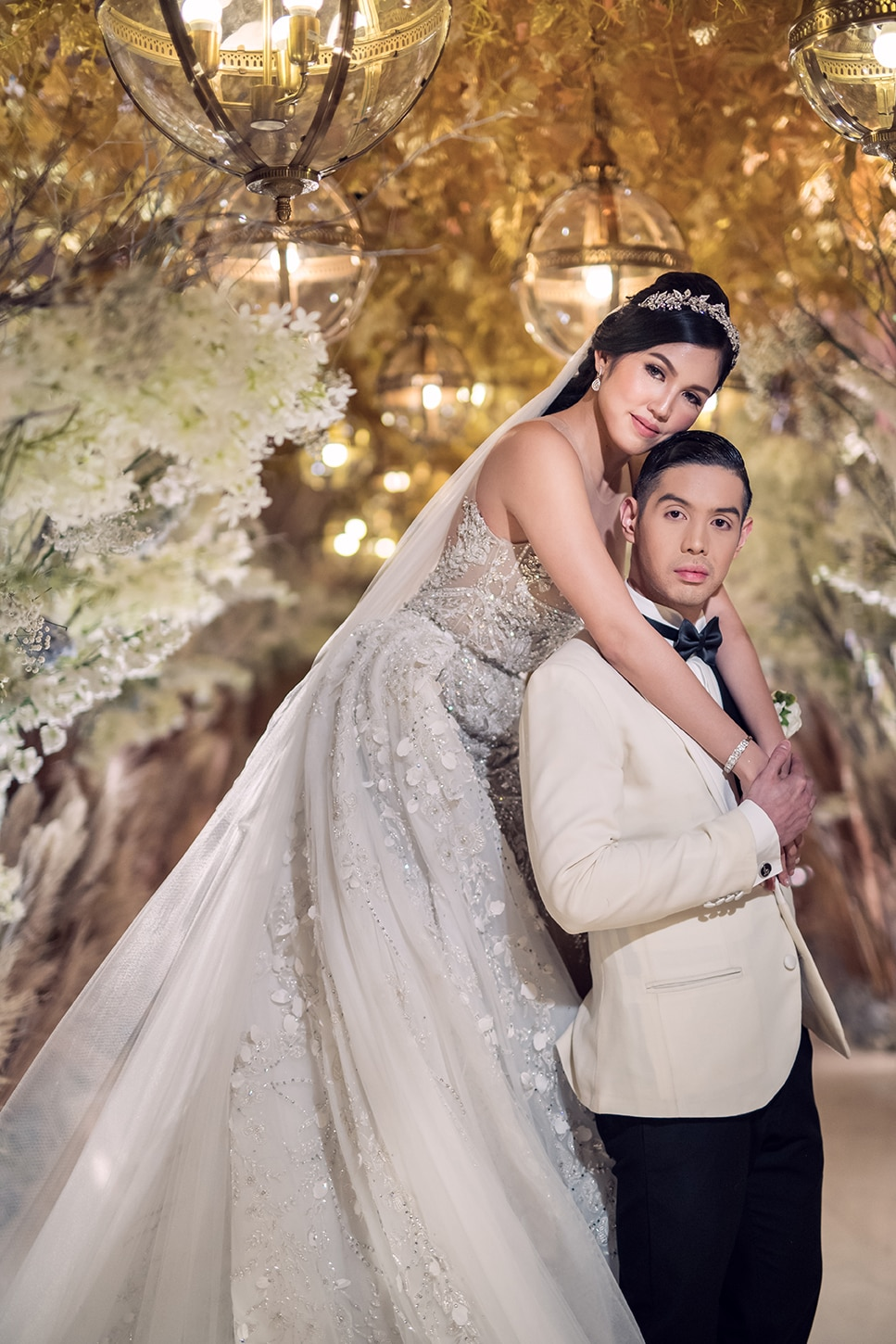 Jam and Enzo, a real life fairy tale couple