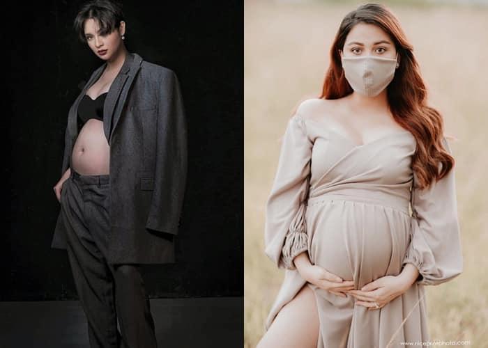 Celebrity Maternity Shoots