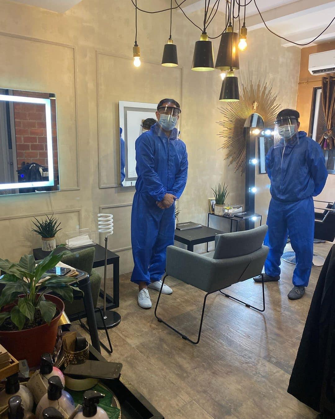 Lourd Ramos' private at-home haircut service