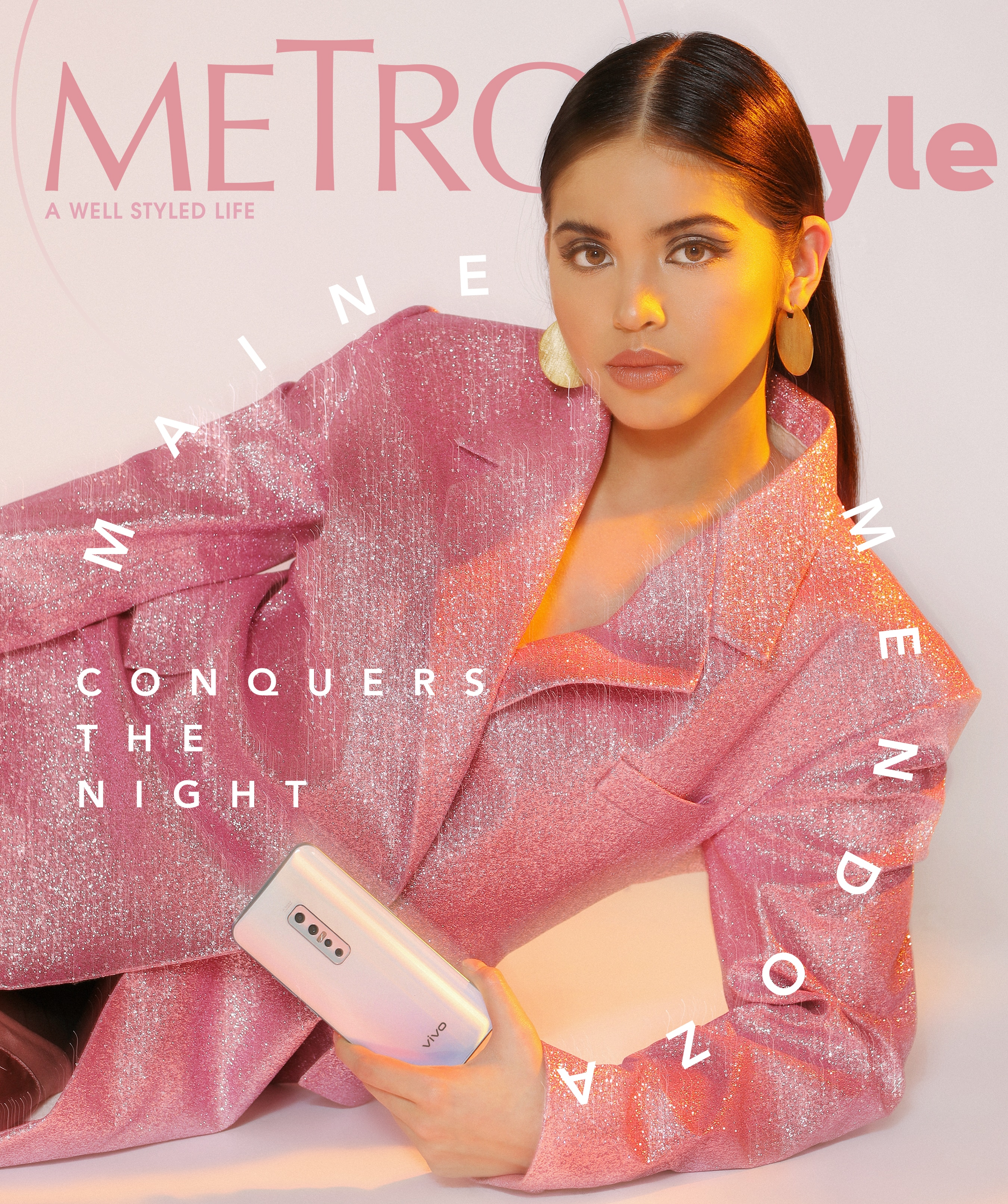Maine Mendoza on the cover of Metro.Style
