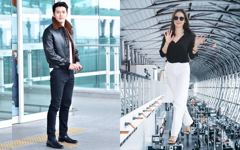 Korean Stars In Airport Fashion