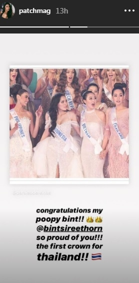 patch magtanong 8th place miss international 2019 0