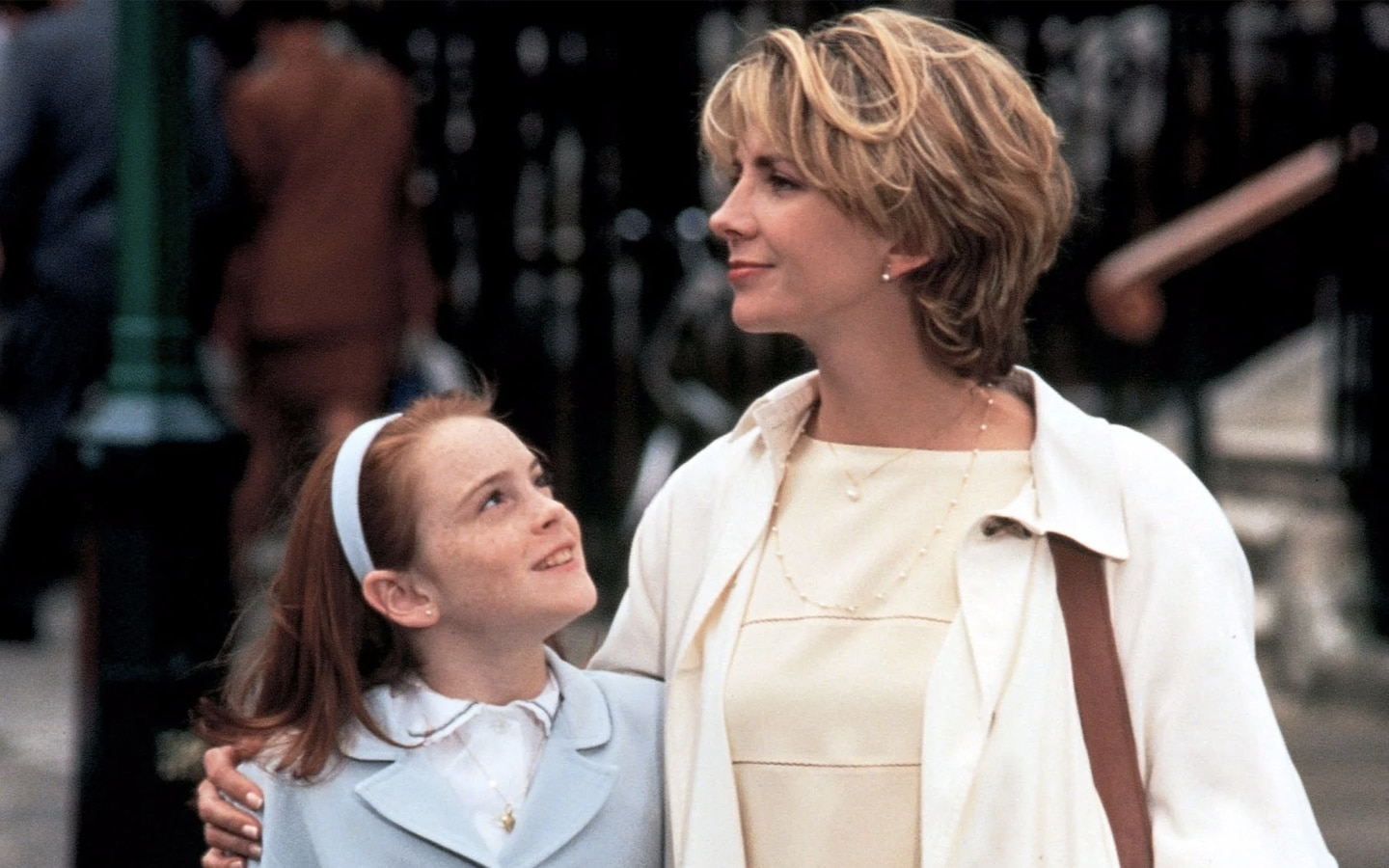 Lindsay Lohan and Natasha Richardson in The Parent Trap