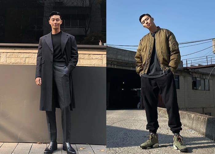 Park Seo-Joon Style Evolution