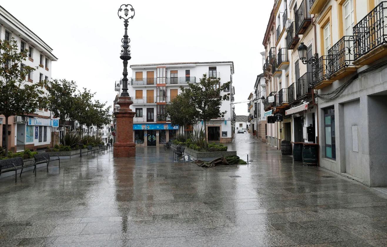 Spain's Empty Streets
