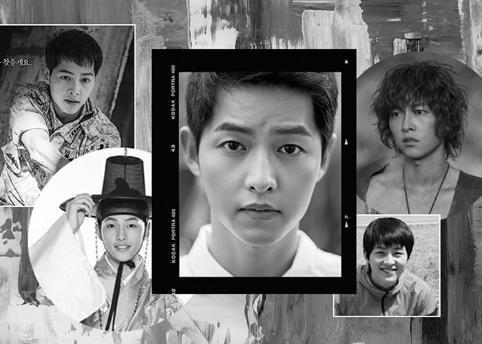 Song Joong-ki Evolution