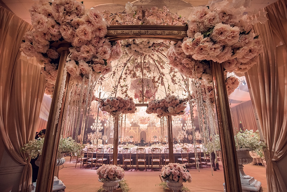 Gideon Hermosa worked his magic on the Grand Ballroom of Shangri-La at the Fort