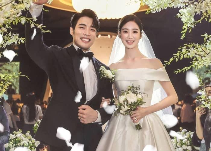 hyerim and shin min-chul's wedding