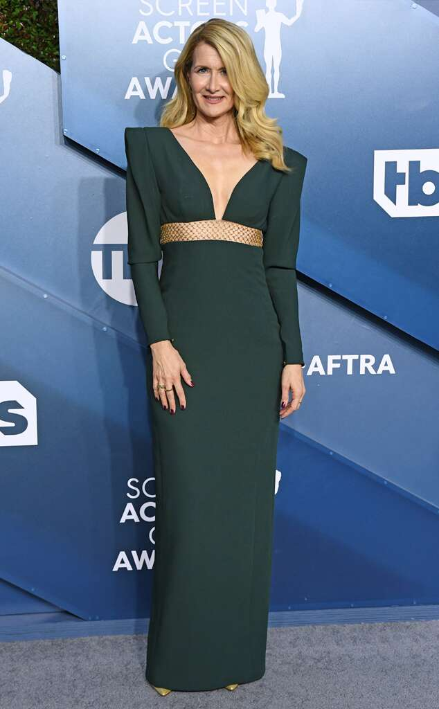 Laura Dern at the 2020 SAG Awards