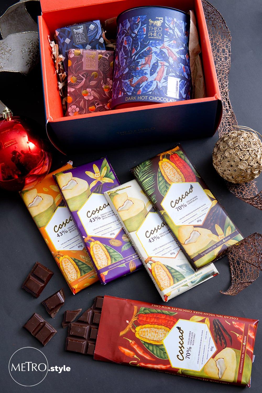 Artisanal and vegan chocolates