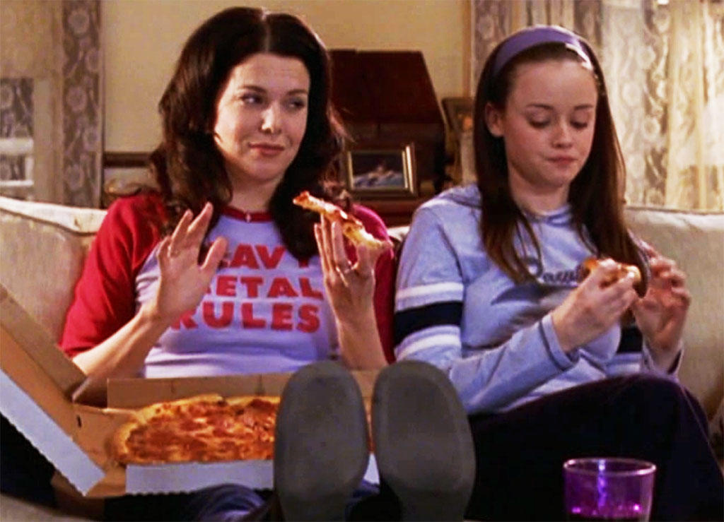 Lorelai and Rory Gilmore, the best of friends