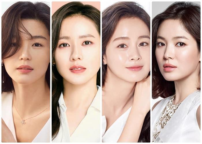Ageless Korean Actresses