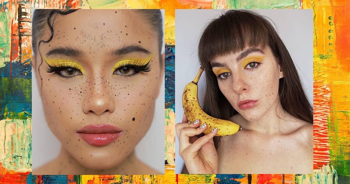Banana-Inspired Makeup Trend