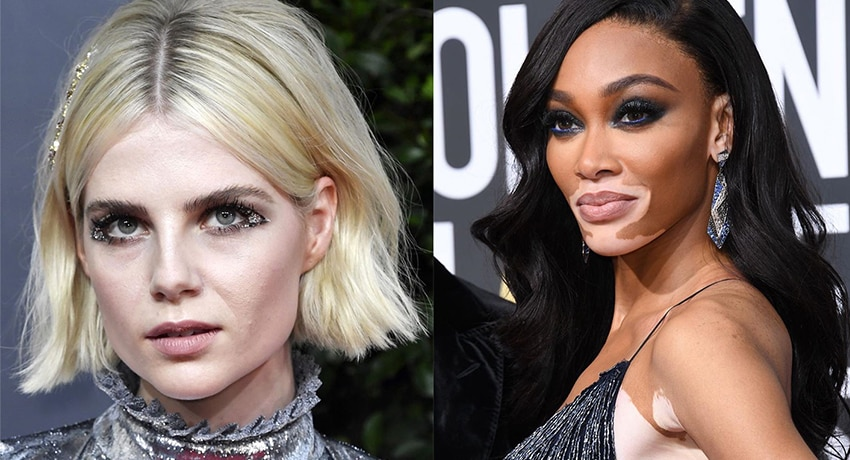 Best Beauty Looks From Golden Globes