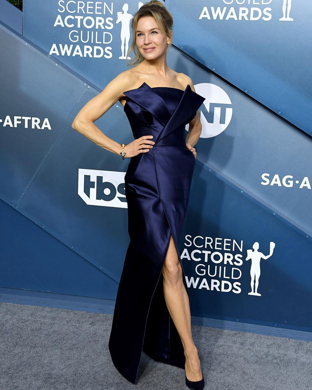 Renee Zellweger at the 2020 SAG Awards