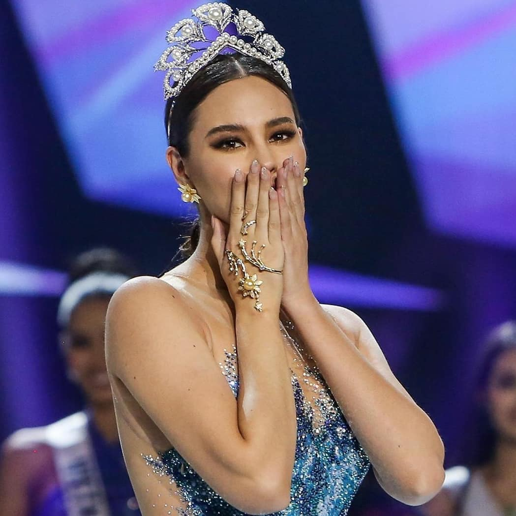 Miss Universe 2018 Catriona Gray during the Miss Universe 2019 coronation night