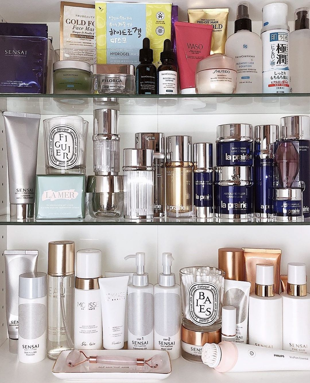 Time for a deep clean in your skincare closet