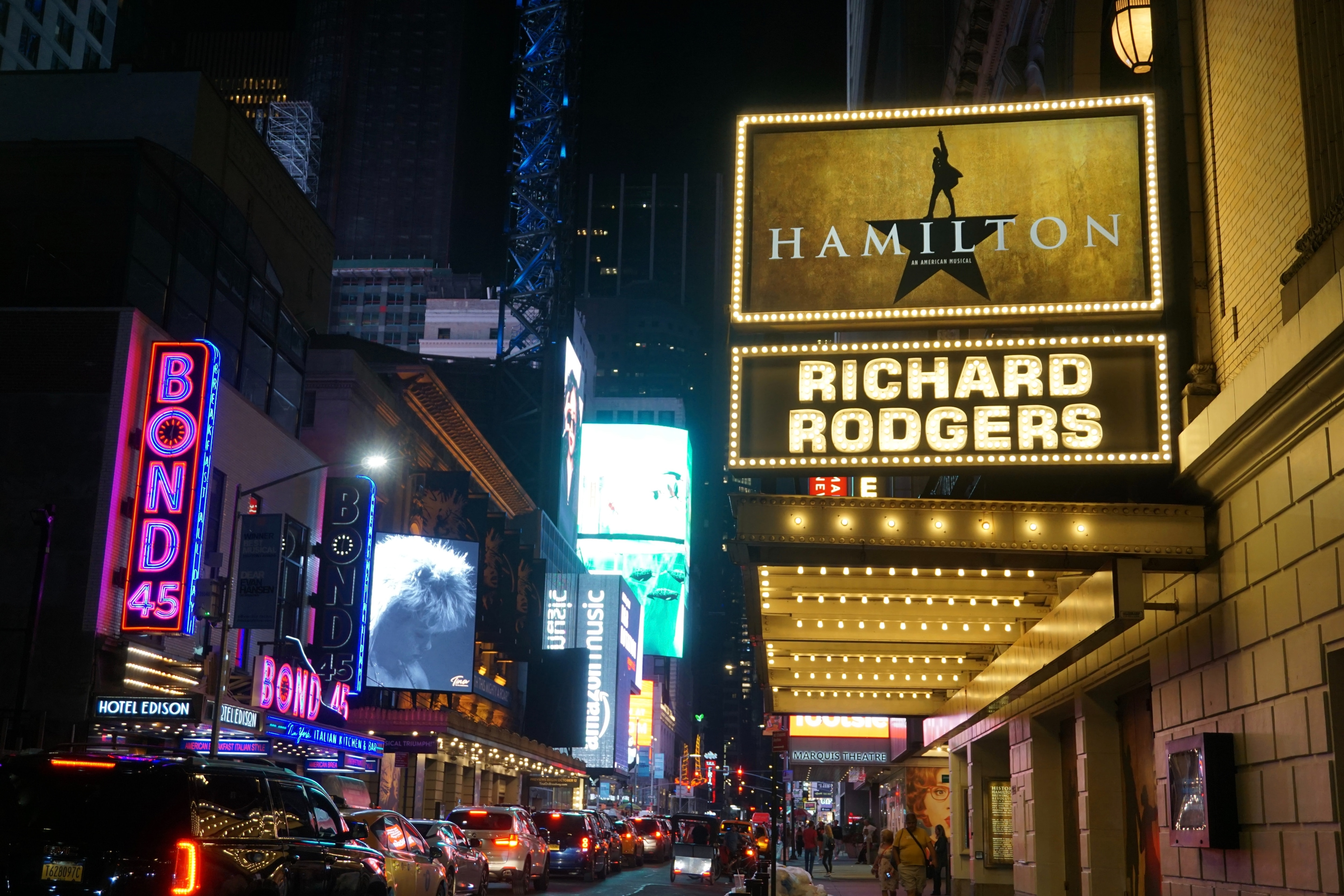 The Richard Rodgers Theatre on 46th Street