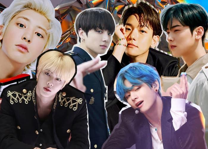 Handsome K-Pop Idols