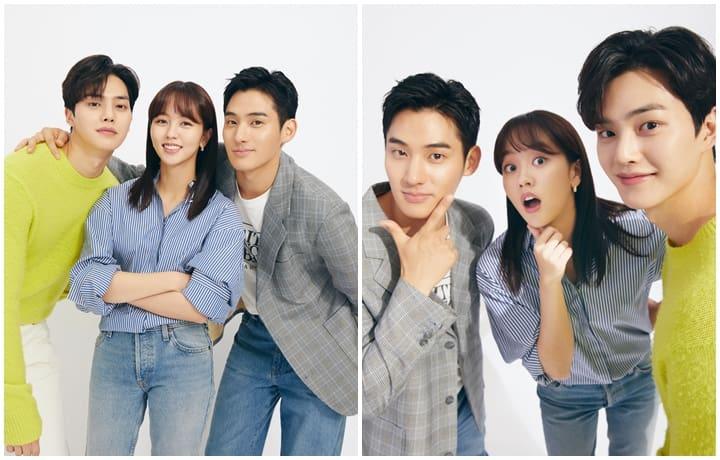"""Love Alarm S2"" Lead Stars Kim So-Hyun, Song Kang, and Jung Ga-Ram"