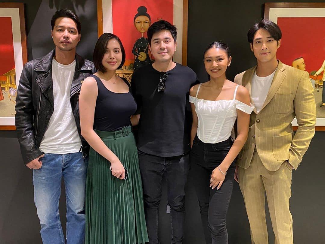 "The promising cast of ABS-CBN's newest teleserye ""Burado."""