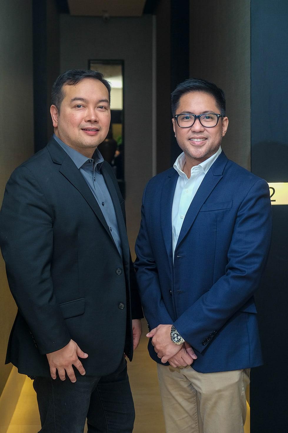 Marco Protacio and Dr. Arnelle Quiambao