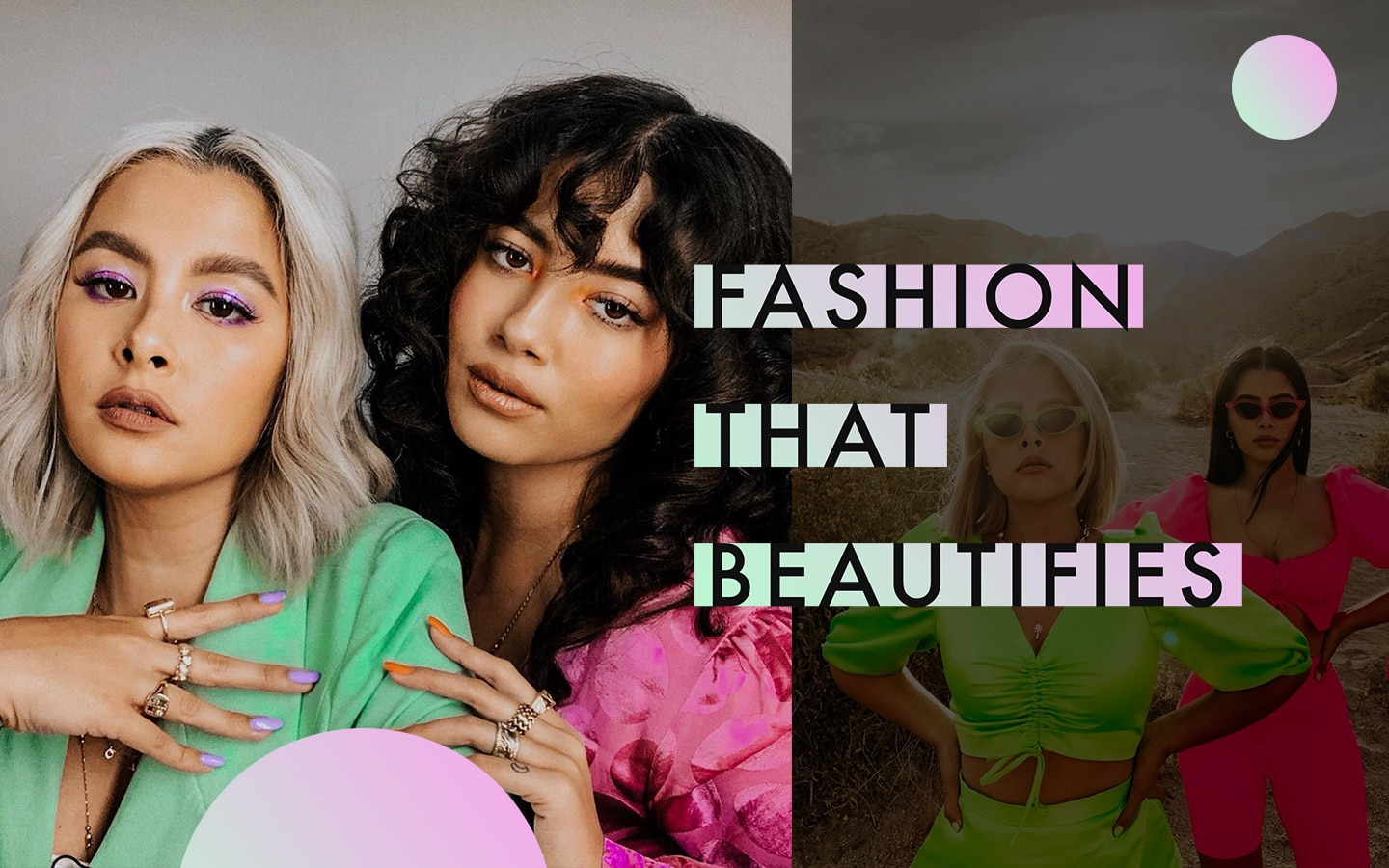 #FashionThatBeautifies: Chi and Gab Gibbs